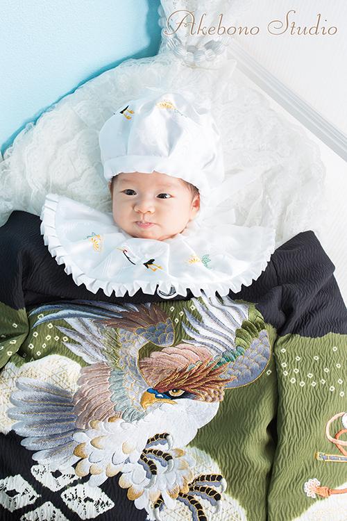 お宮参り撮影 奈良県生駒市/あー君