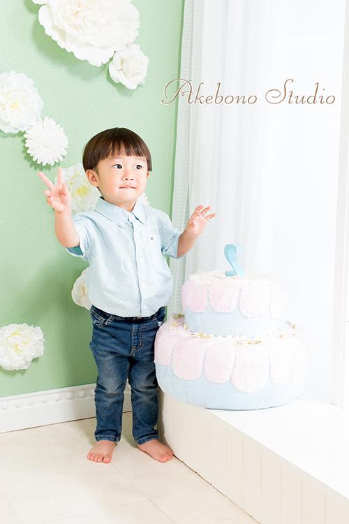 お誕生日写真