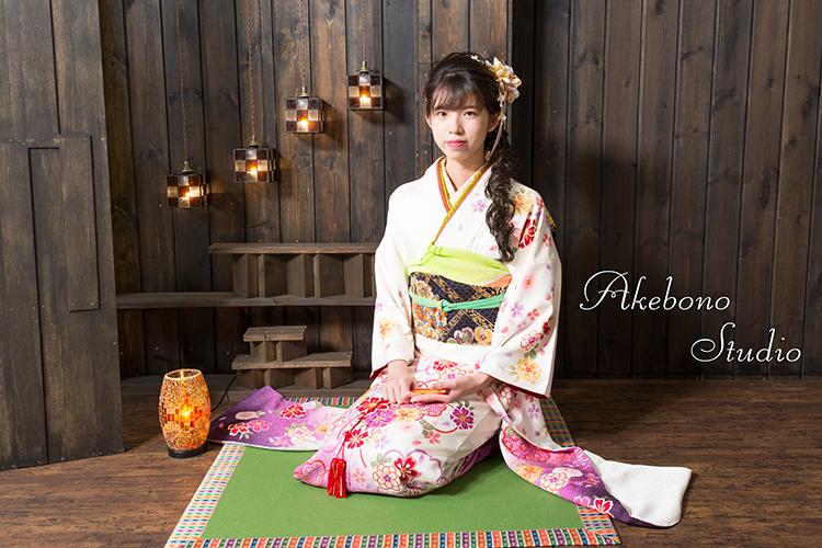 成人式振り袖写真奈良