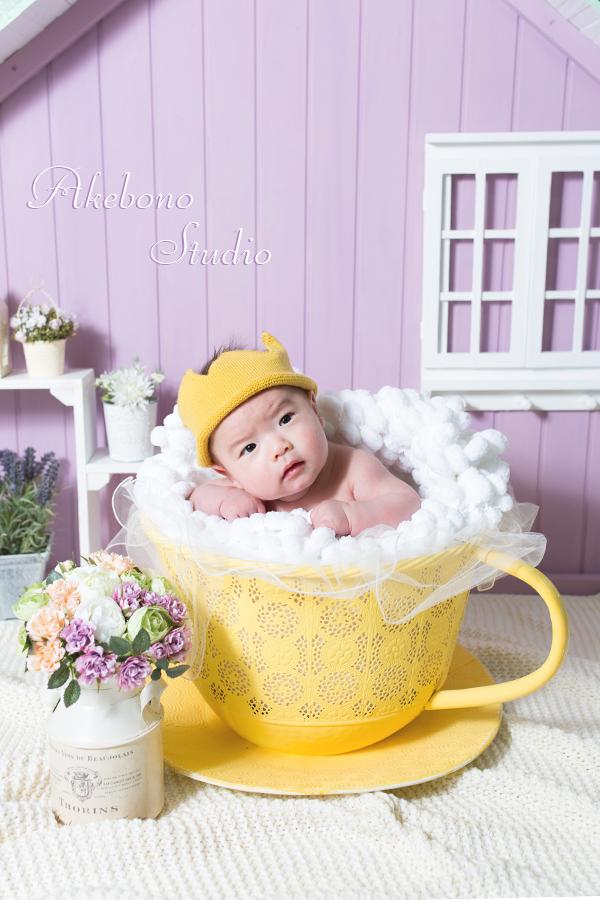 王寺ニューボンフォトお宮参り写真赤ちゃん