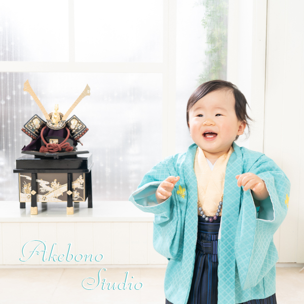節句お誕生日写真奈良県奈良市