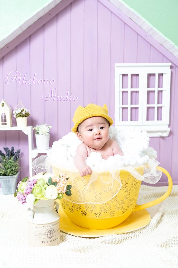 お宮参りニューボーンフォト赤ちゃん写真奈良県奈良市生駒市王寺