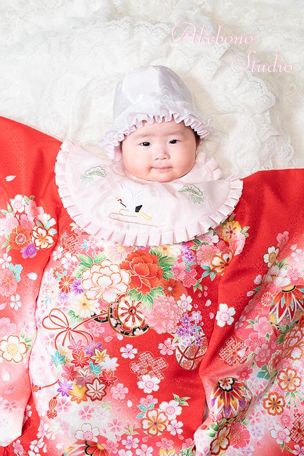 お宮参り写真赤ちゃん大阪府四條畷