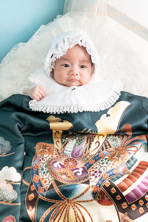 京都府木津川市お宮参り写真赤ちゃん