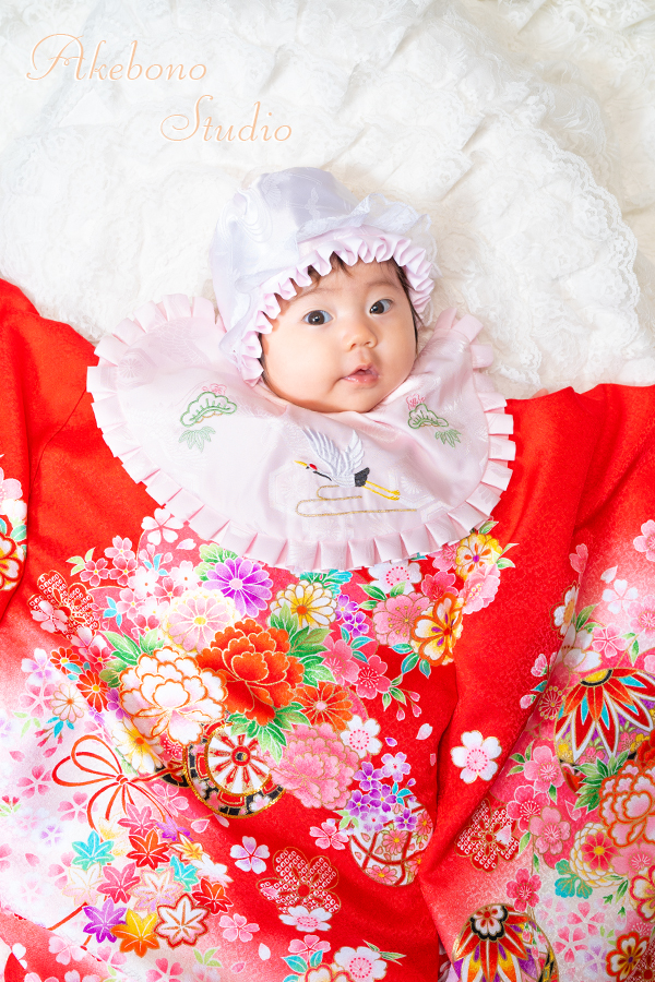 お宮参り赤ちゃん写真奈良県大和郡山市