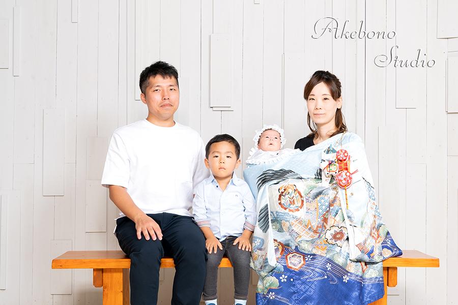 お宮参り写真赤ちゃん奈良県生駒市京都府木津川市