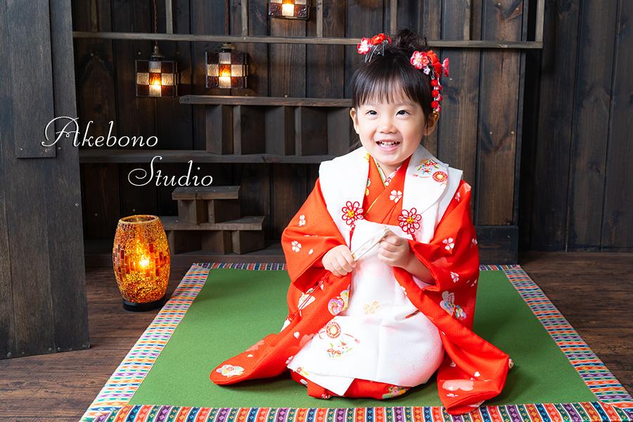 七五三写真京都府木津川市フォトスタジオ