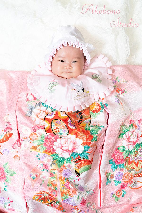 お宮参り写真赤ちゃんフォトスタジオ京都府精華町