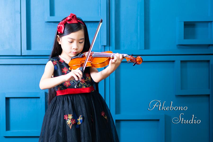 バイオリン撮影 奈良県奈良市