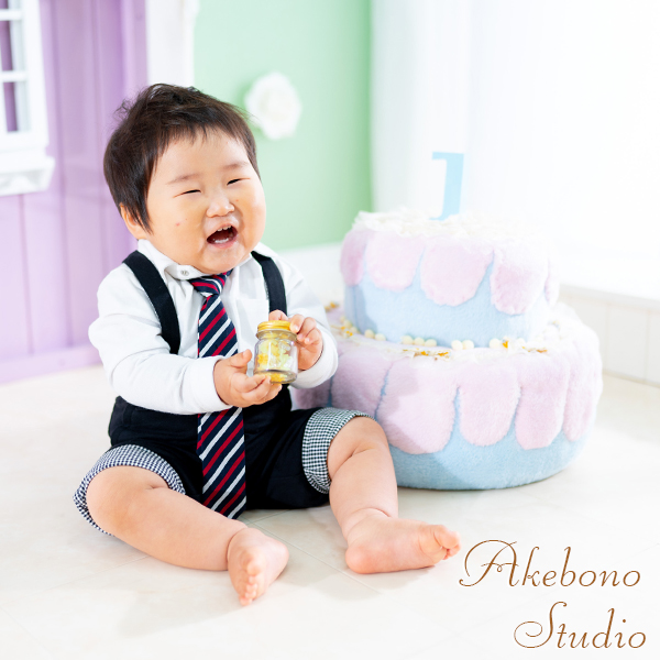 お誕生日写真 大阪府東大阪市