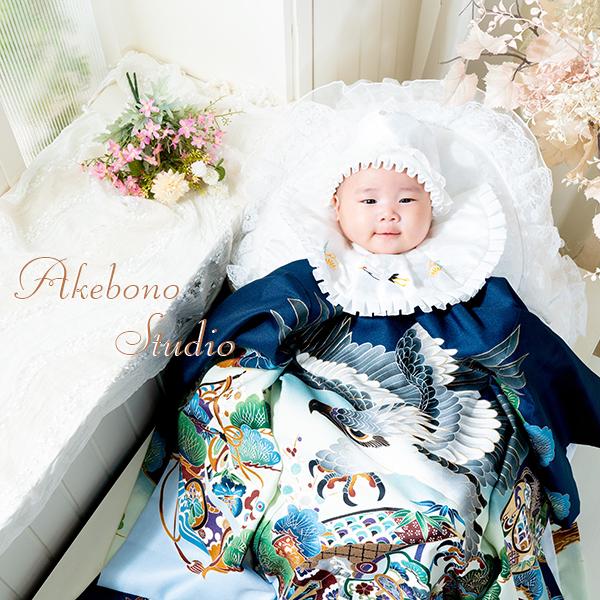 赤ちゃんお宮参り写真 奈良県奈良市