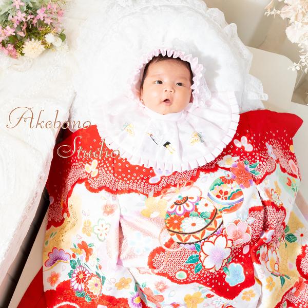 赤ちゃんお宮参り写真 奈良県生駒市